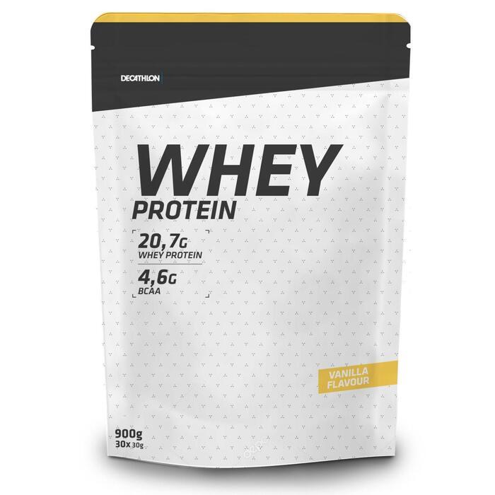 Proteinpulver Eiweißpulver Whey Protein Vanille 900g