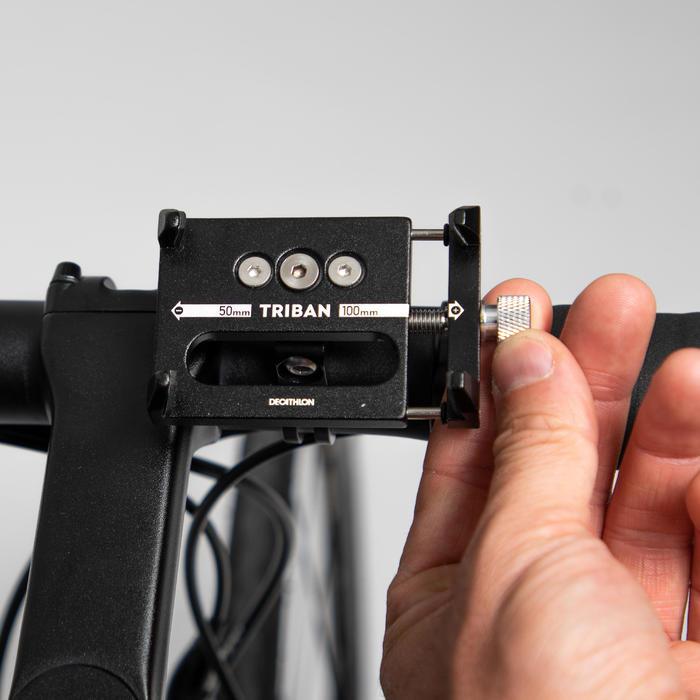 Support smartphone vélo métal