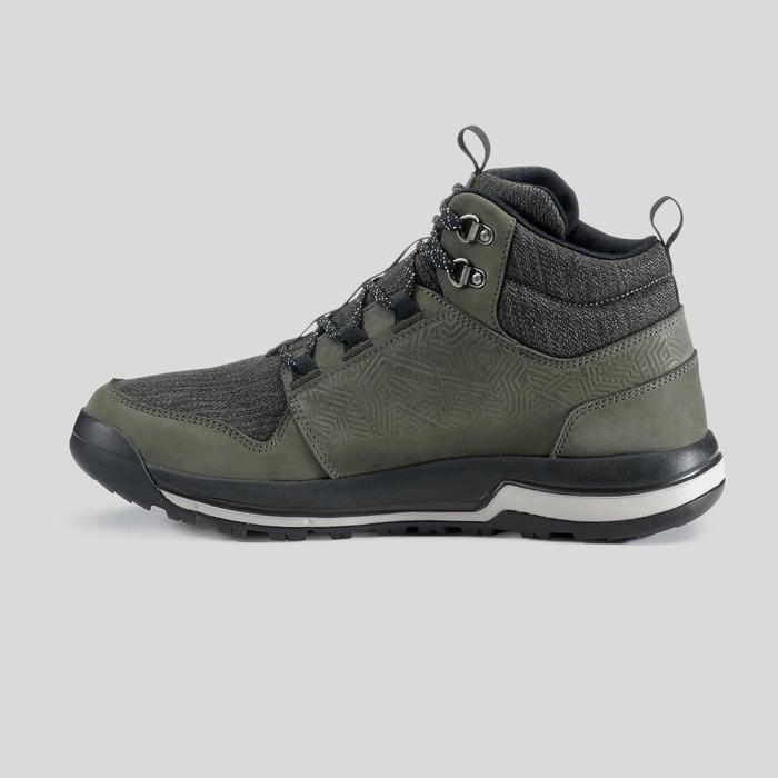 Waterdichte schoenen voor natuurwandelen heren NH500 Mid WP