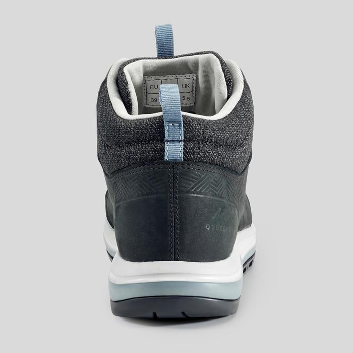 Waterdichte wandelschoenen voor dames NH500 mid zwart
