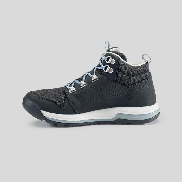 Women's Waterproof Country Walking Shoes - NH500 Mid WP