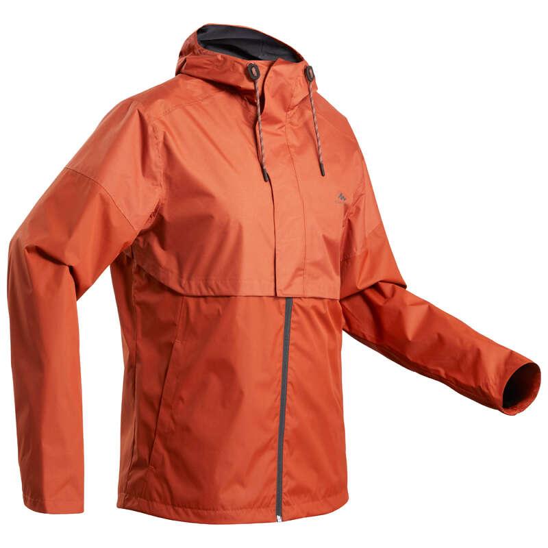 МУЖСКИЕ КУРТКИ / прогулки на природе Мужская летняя одежда - Куртка дождевик NH500 муж. QUECHUA - Мужская летняя одежда