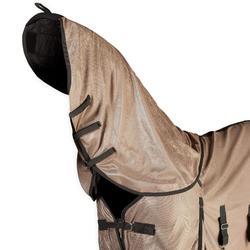 Fliegendecke + Halsteil Anti-Fly Pferd/Pony beige