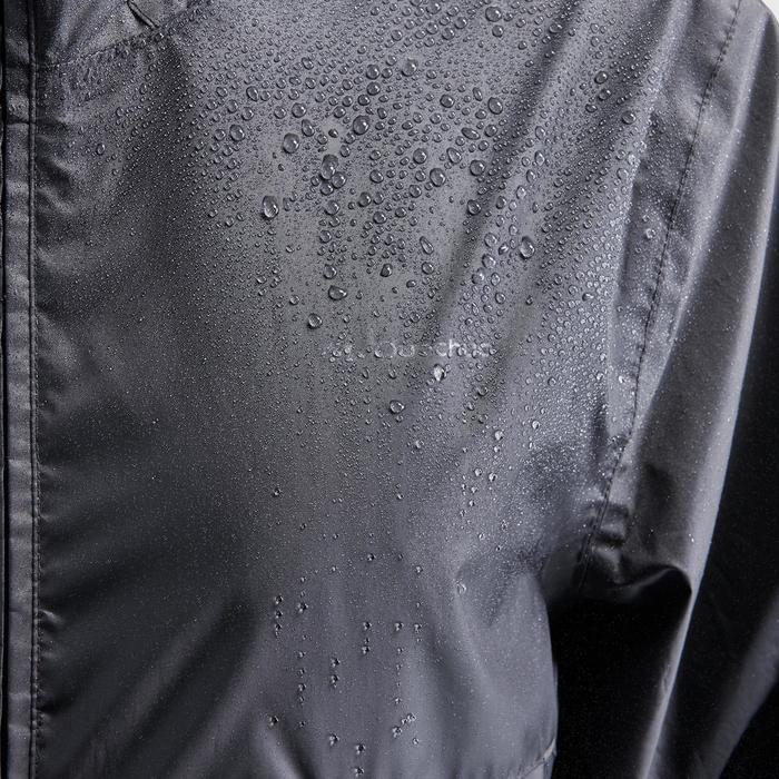 男款郊野健行防雨外套(全開式拉鍊)NH100 Raincut