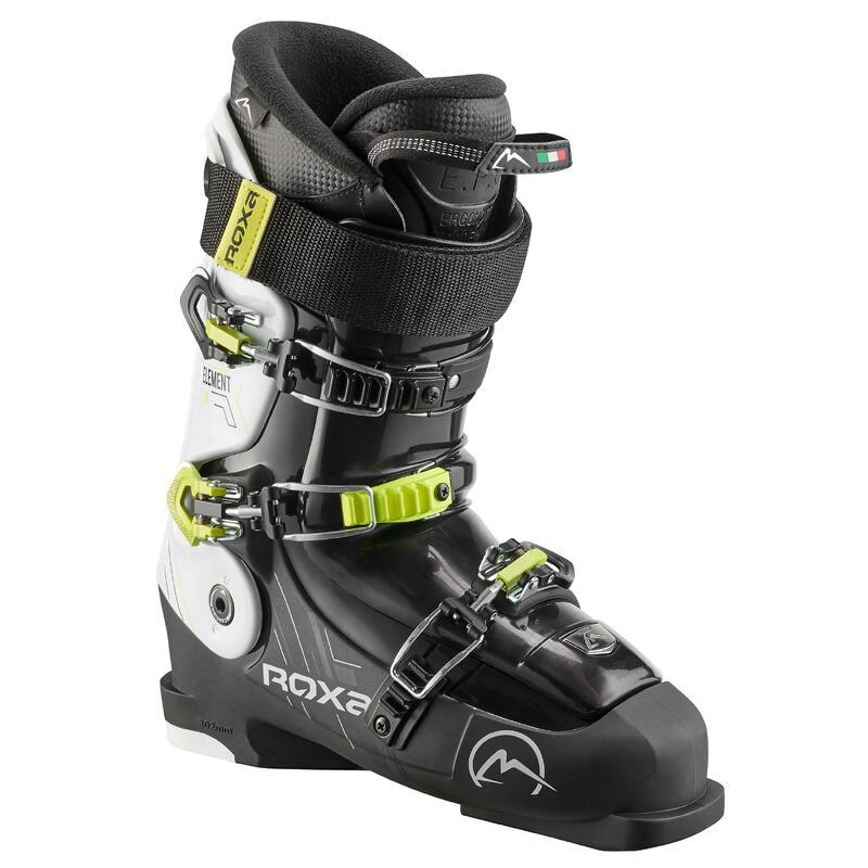 Botas Esquí Hombre, ROXA ELEMENT 90, Freestyle/Freeride, Negro