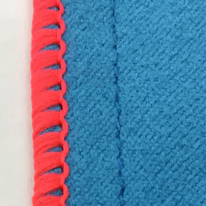 Set van 3 microvezeldoekjes ruitersport blauw - 174017