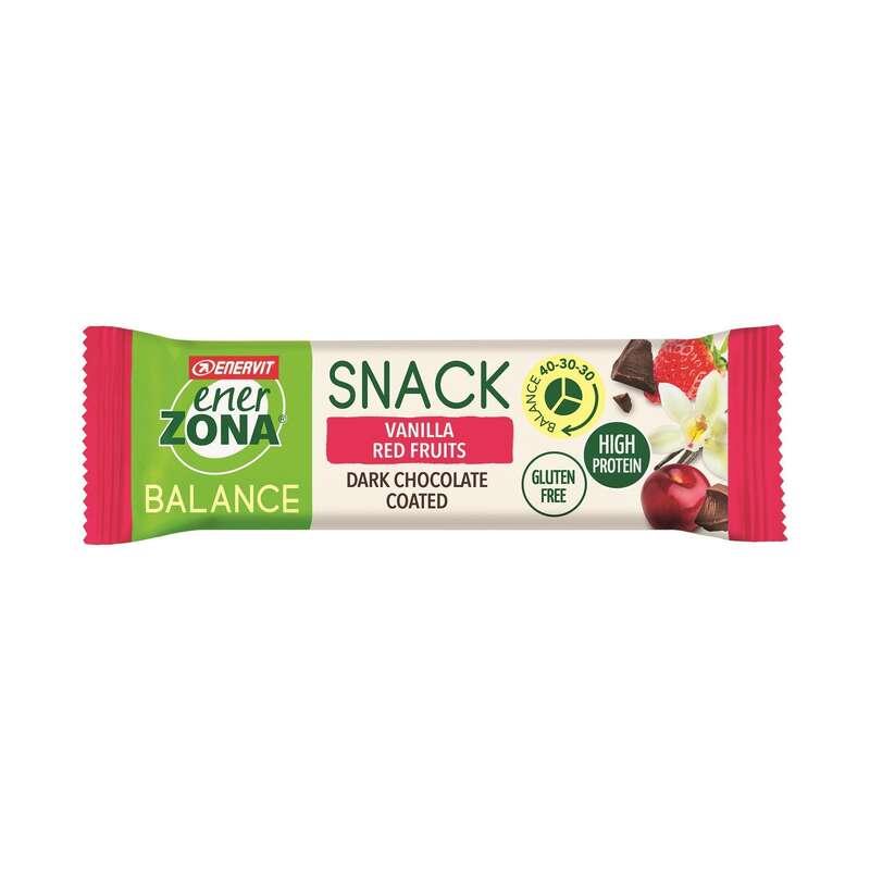 BARRETTE, GEL E RECUPERO Alimentazione - Barretta SnackBar Vaniglia 25g ENERZONA - Alimentazione