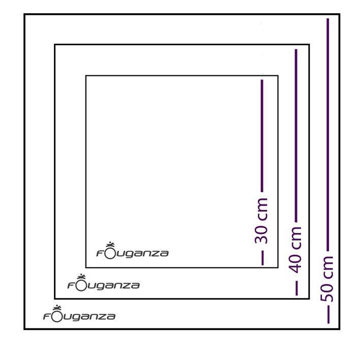 Lot de 3 époussettes microfibres équitation bleu - 174019