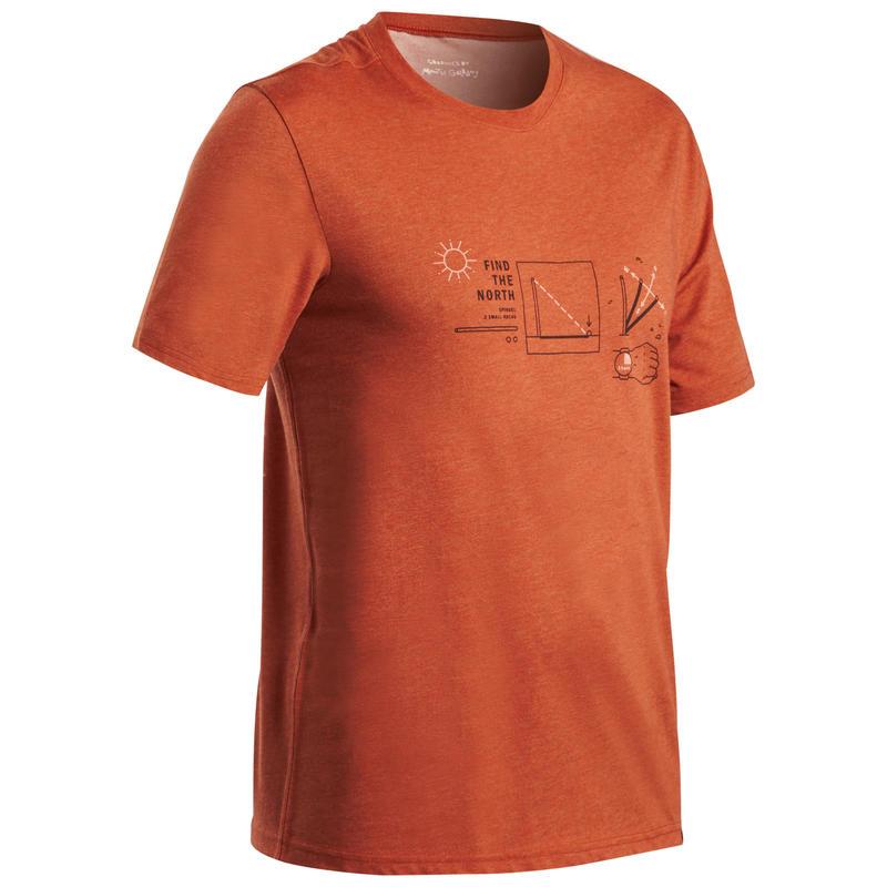 """Vīriešu bezceļu pārgājienu T krekls """"NH500"""""""