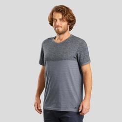 T-shirt wandelen in de natuur Heren NH500 Fresh