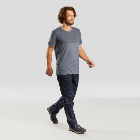 T-shirt de randonnée nature - NH550 Fresh - Homme