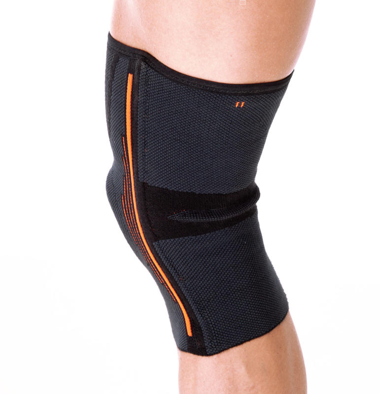 Soft 500 Men's/Women's Left/Right Knee Kneecap Support - Black