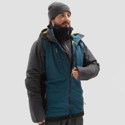 Hoodie voor snowboarden/skiën heren SNB HDY zwart
