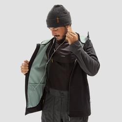男款單/雙板滑雪連帽衫SNB HDY - 黑色