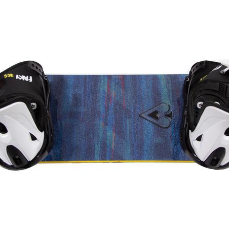 Coussinets adhésifs antidérapants pour les planches à neige.