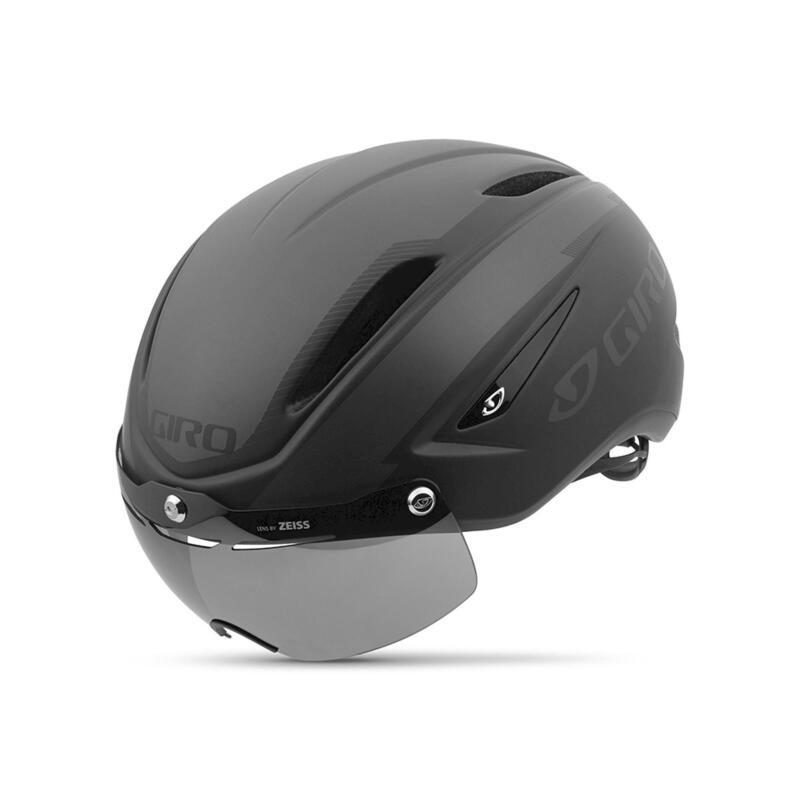 Giro Air Attack Cycling Helmet With Visor - Black