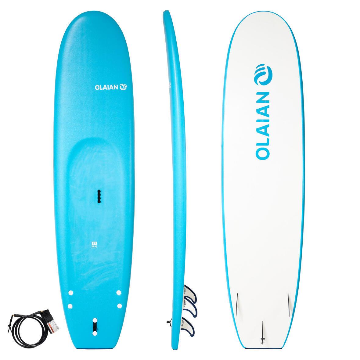 PLANCHE DE SURF EN MOUSSE 100 8'2