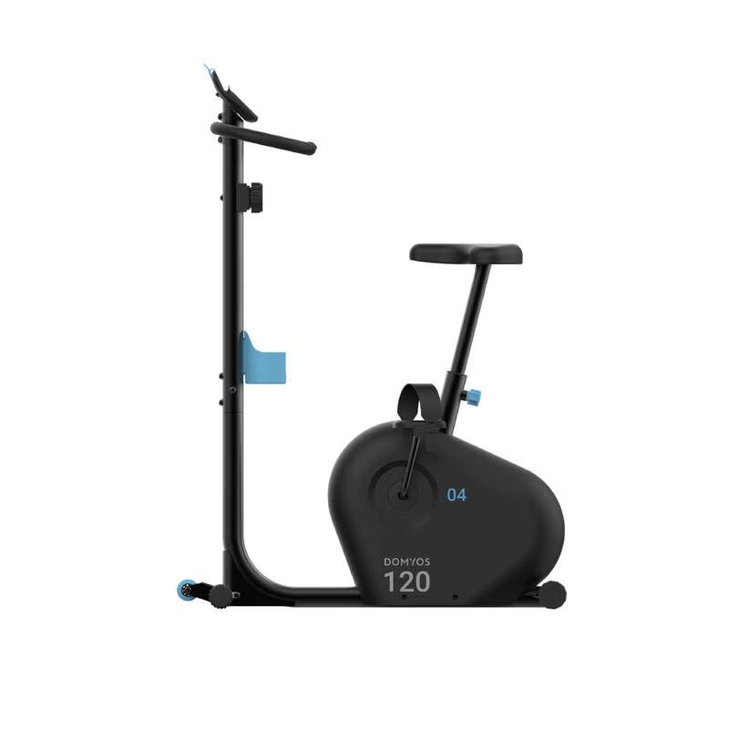 BICICLETĂ FITNESS CARDIO Fitness Cardio, Bodybuilding, Crosstraining, Pilates - Bicicletă Apartament BIKE 120 DOMYOS - Aparate fitness cardio