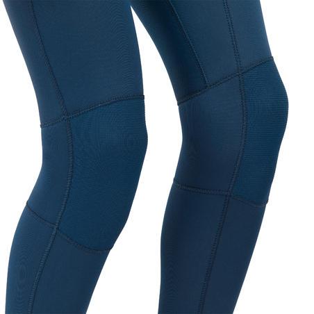 Kids' Full Wetsuit 3/2 - Blue/Black