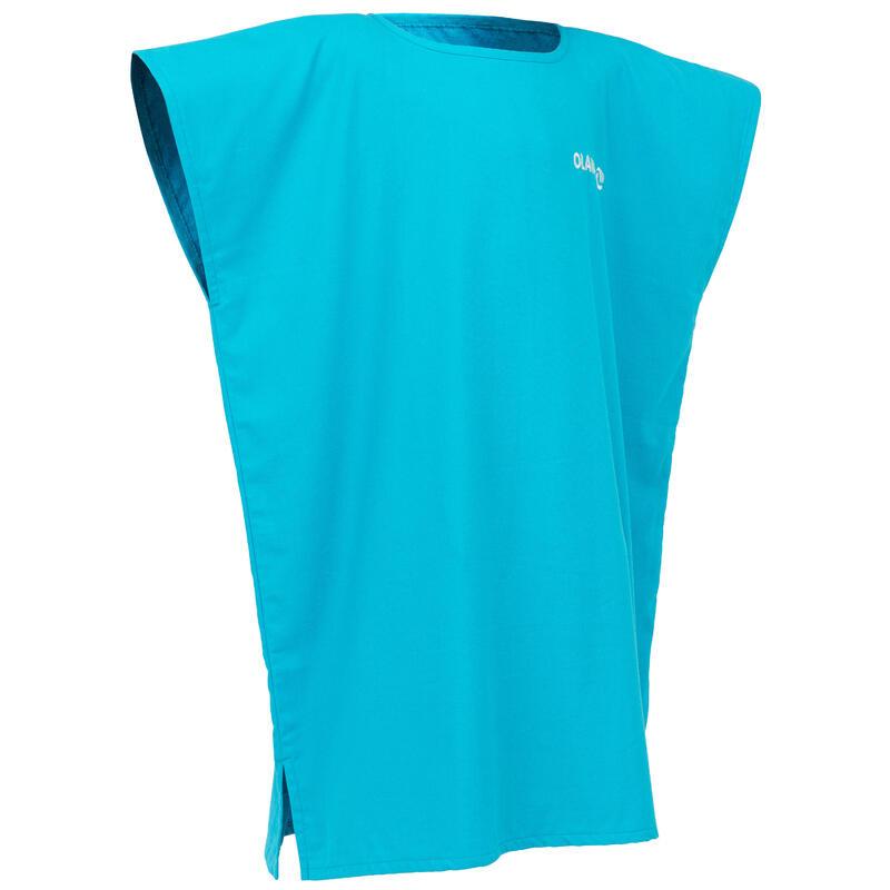 Kids' Surf Poncho 100 (2 Sizes) - Blue
