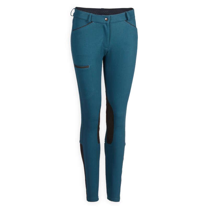 Îmbrăcăminte echitație damă Echitatie - Pantalon STABLE 150 ponei FOUGANZA - Echitatie