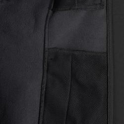 Chaqueta con capucha equitación mujer 500 SOFTSHELL gris oscuro