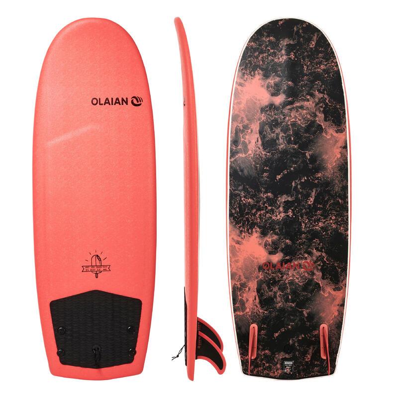 """Tabla Surf Mini Simmons Espuma Olaian 900 5'4"""". Pack Tabla + Quillas."""