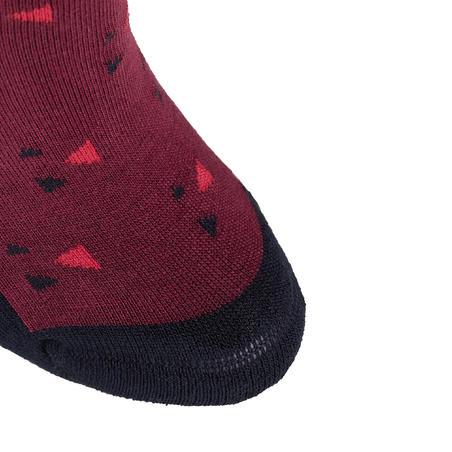 Носки для верховой езды для девочек 500 PRINT