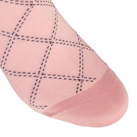 Гетри 500 Light жіночі для кінного спорту - Рожеві/Сині