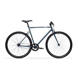 Stadsfiets Single Speed 500 blauw
