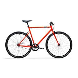Stadsfiets Single Speed 500 oranje