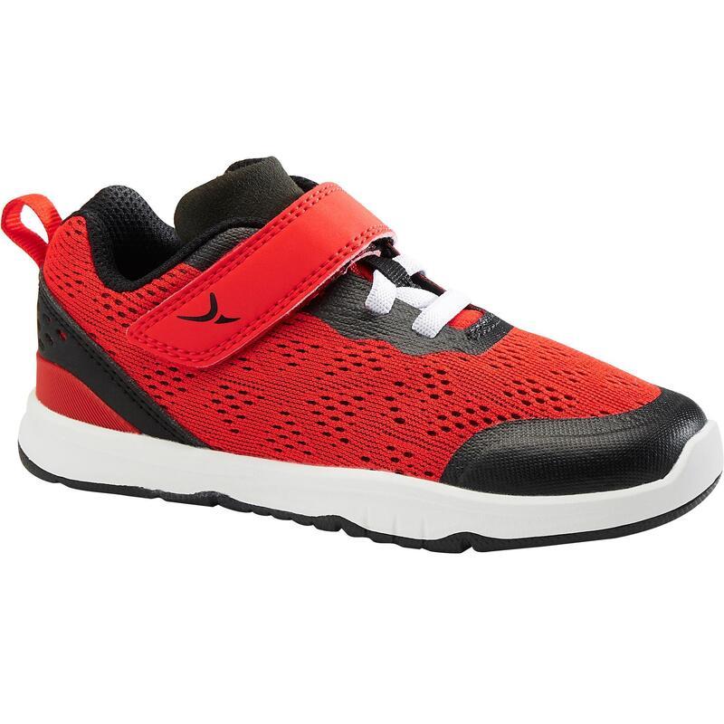 Dětské prodyšné boty I Move Breath +++ červeno-černé velikosti 25 až 30