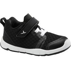 Zapatillas Bebé primeros pasos Domyos 520 I Learn Breath+ negro tallas 20 al 24