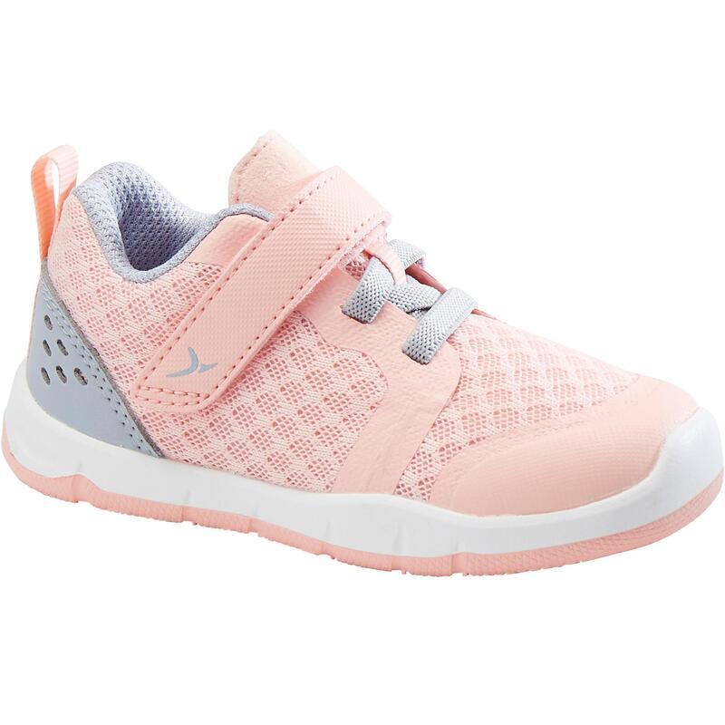 Zapatillas Bebé primeros pasos Domyos 520 I Learn Breath+ coral tallas 20 al 24