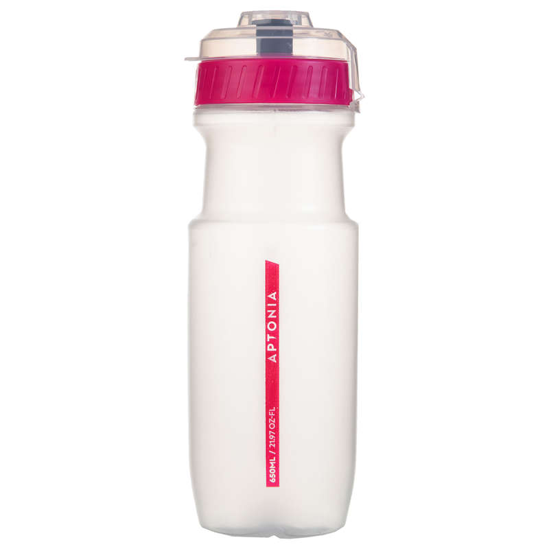HYDRATION & BEFORE Boxing - Sports water bottle Pink 650ml APTONIA - Boxing Accessories