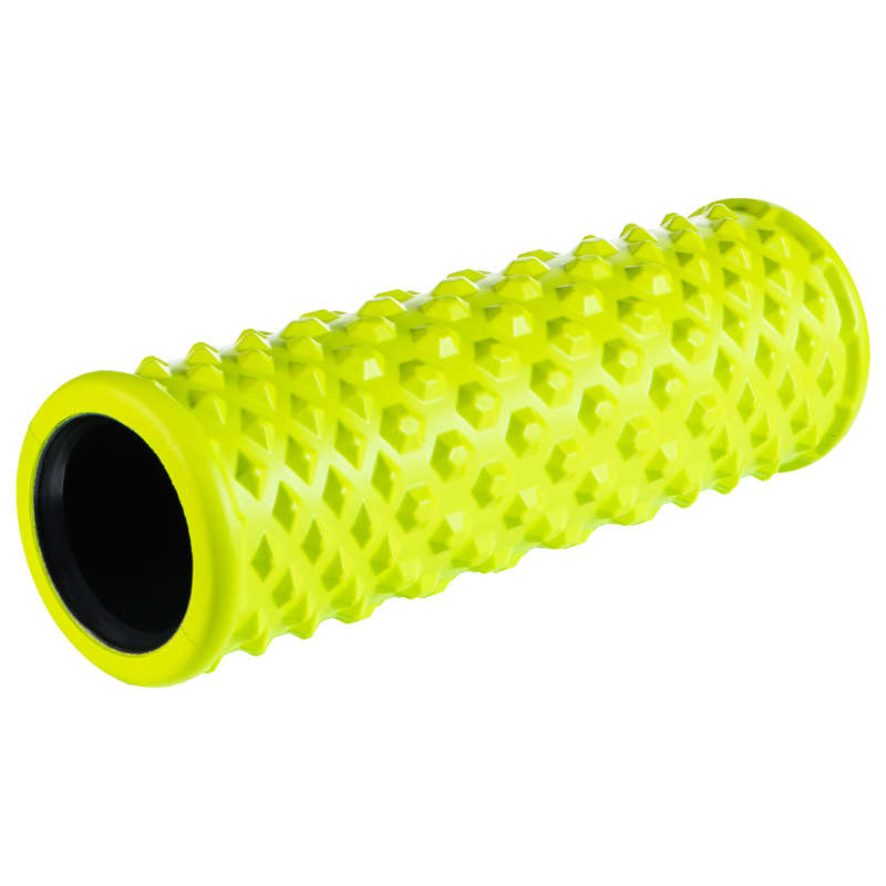 RECOVERY & PREPARATION ACCESSORIES Fitness and Gym - 500 HARD MASSAGE ROLLER GREEN APTONIA - Fitness and Gym
