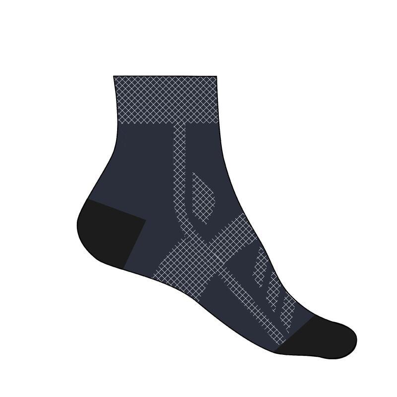 Cyklistické ponožky Roadracing 500 námořnické modré