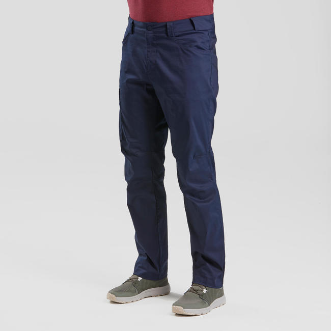Men's Hiking Pant NH100 - Navy Blue