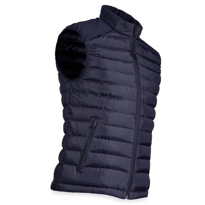 Golf Steppweste warm CW500 Herren marineblau