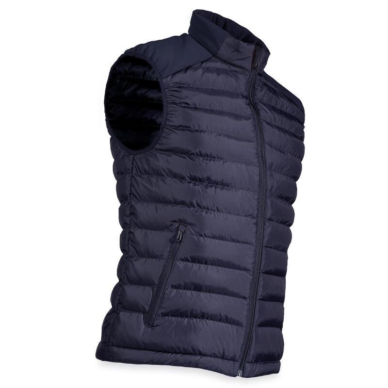 Bodywarmer voor golf heren koud weer marineblauw
