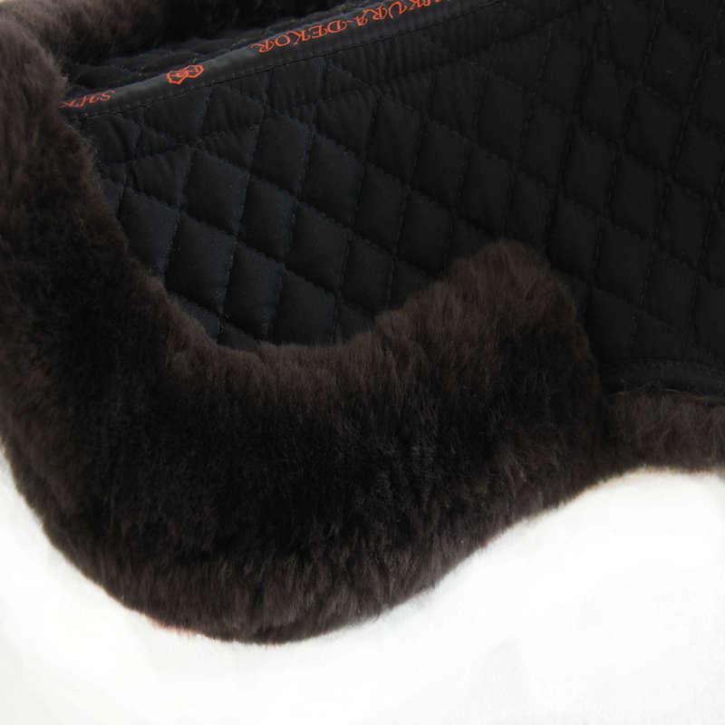 АМОРТИЗАТОРЫ ПОД СЕДЛО Верховая езда - RU wool shock absorber brown SHKURA DECOR - Амуниция для лошади