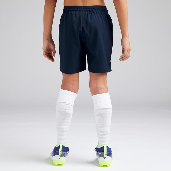 Short de football fille F500 bleu