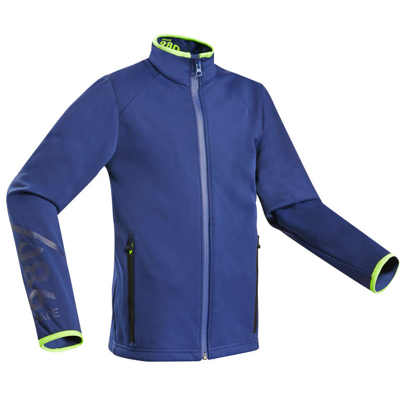 SKI CLUB EQUIPMENT Clothing - JR D-SKI RACE JKT 980 - BLUE WEDZE - Coats and Jackets