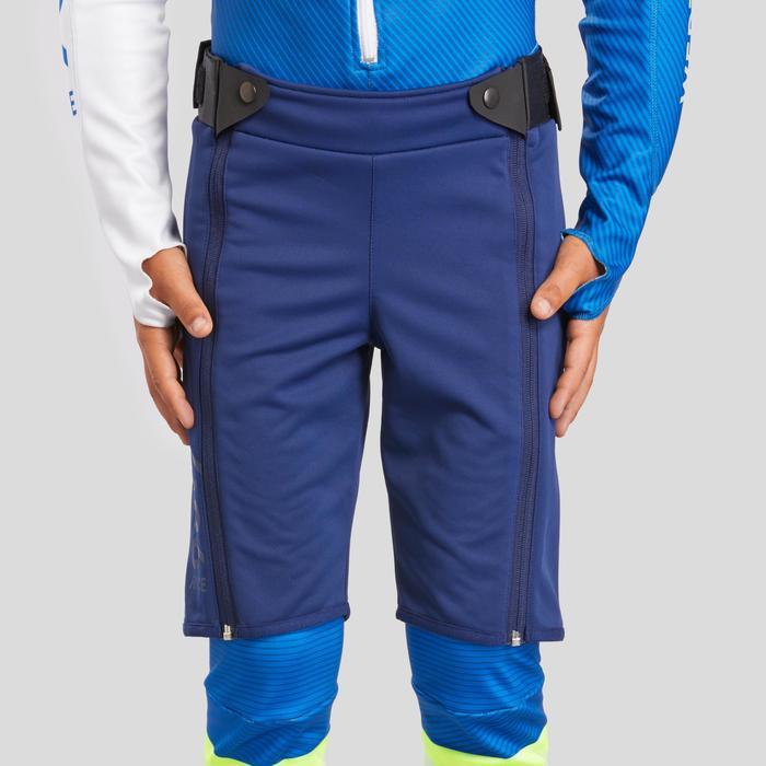 Skishort voor competitie kinderen 980 blauw