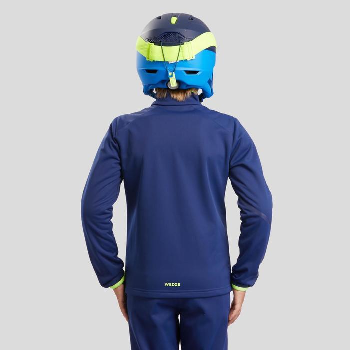 Ski-jas voor competitie kinderen 980 blauw