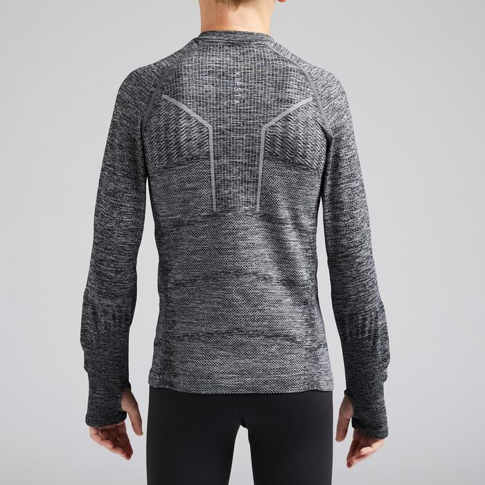 Sous-vêtement enfant Keepdry 500 gris chiné
