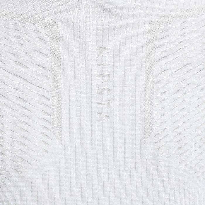 Thermoshirt kind Keepdry 500 lange mouw wit
