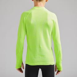 兒童款底層衣Keepdry 500-螢光黃