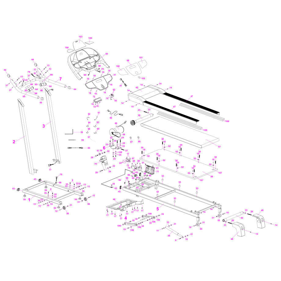 Exploded view T520