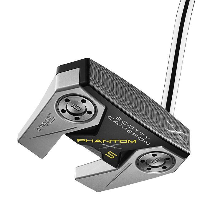 Putter de golf adulte phantom X5 Scotty Cameron droitier noir